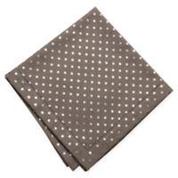 KAF Home Metallic Mini Dot Napkins in Silver (Set of 4)