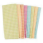 KAF Home Malibu Gingham 8-Pack Kitchen Towels