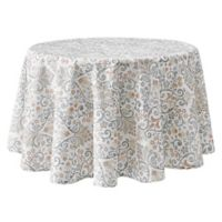 Lizzie 70-Inch Round Tablecloth in Blush