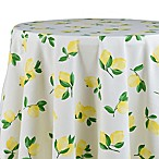 kate spade new york Make Lemonade 70-Inch Round Tablecloth