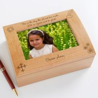 Rejoice and Be Glad Photo Keepsake Box for Girls