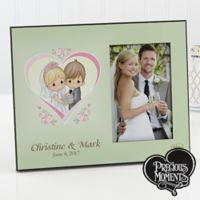 Precious Moments® Heart Wedding Photo Frame