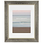 Rustic Wood 8-Inch x 10-Inch Picture Frame in Grey