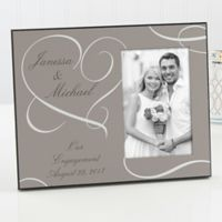 Our Engagement Picture Frame