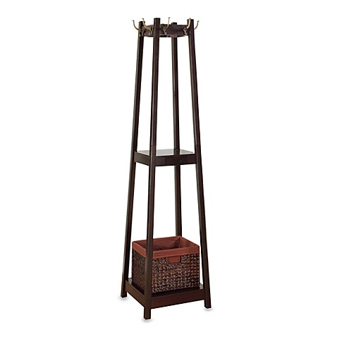 Nepal Coat Rack With Drawer Basket Bed Bath Amp Beyond
