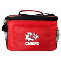 NFL Kansas City Chiefs 6-Can Cooler Bag