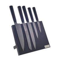 Viners Titan 5-Piece Knife Block Set in Black