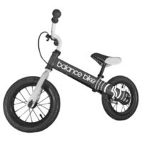 12-Inch Metal Balance Bike in Black