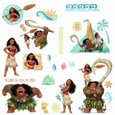 RoomMates® Disney® Moana Peel and Stick Wall Decals (Set of 25)