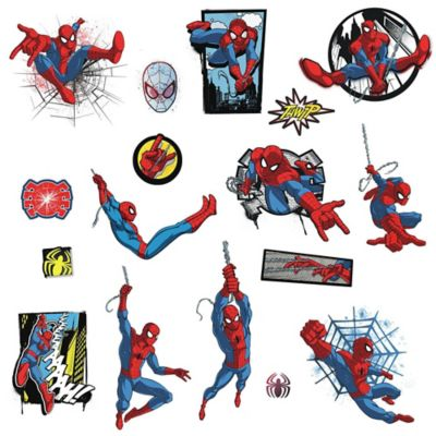 RoomMates® Marvel® Spider Man Comic Peel And Stick Wall Decals