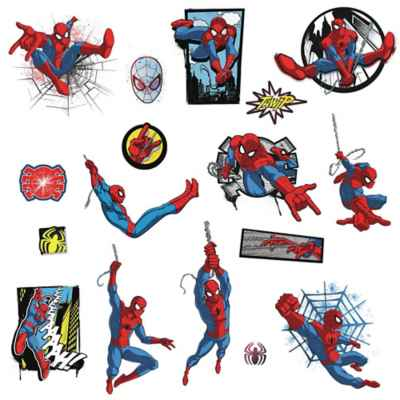 RoomMates® Marvel® Spider-Man Comic Peel and Stick Wall Decals
