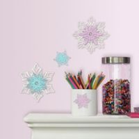 RoomMates® Disney® Frozen Snowflake Embellishments (Set of 4)