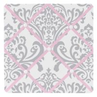 Sweet Jojo Designs Elizabeth Memo Board in Pink/Grey