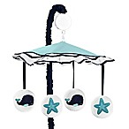 Sweet Jojo Designs Whale Musical Mobile in Blue/White