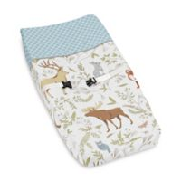 Sweet Jojo Designs Woodland Toile Changing Pad Cover