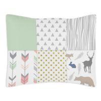 Sweet Jojo Designs® Woodsy Standard Pillow Sham