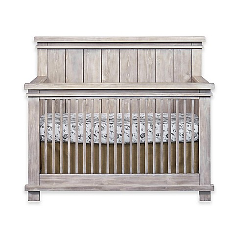 Soho Baby Hampton 4 In 1 Convertible Crib In Stonewash