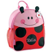 Stephen Joseph All Over Print Mini Backpack in Ladybug Red