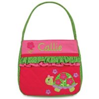 Stephen Joseph® Turtle Quilted Purse in Pink
