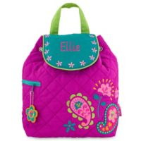 Stephen Joseph® Paisley Quilted Backpack in Purple