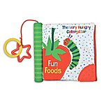 "Eric Carle™ ""Fun Foods"" Teether Spine Soft Book"