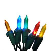 Brite Star 100-Count LED Multi-Color Mini Lights