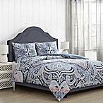 Suhani Full/Queen Comforter Set in Navy