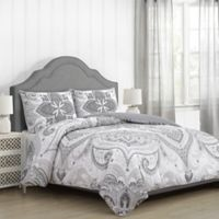 Suhani King Comforter Set in Grey
