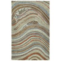 Kaleen Marble Mounds 5' x 7'9 Area Rug in Grey