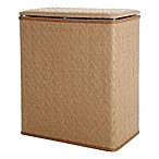 LaMont Home River Upright Hamper in Tan