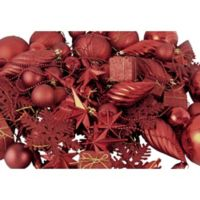 Northlight 125-Pack Christmas Ball Ornaments in Red