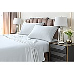 Tribeca Living 220 GSM Solid Flannel Queen Sheet Set in White