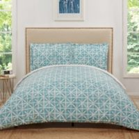 Truly Soft Celine Twin XL Duvet Cover Set in Teal