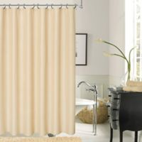 Dainty Home Crocodile Shower Curtain in Ivory