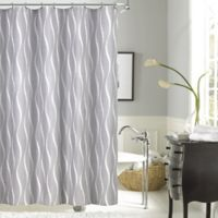Dainty Home Morocco Shower Curtain in White