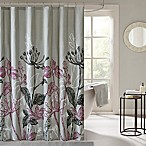 Madison Park Essentials Claremont Shower Curtain in Purple