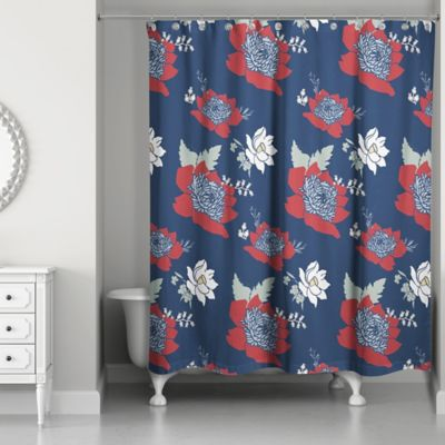 Buy Vibrant Red Shower Curtain from Bed Bath & Beyond