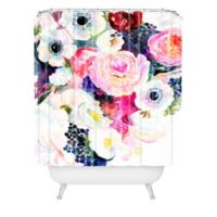 Deny Designs Stephanie Corfee 72-Inch x 69-Inch Dark and Light Shower Curtain in Pink