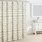 City Scene Piper Shower Curtain in Grey