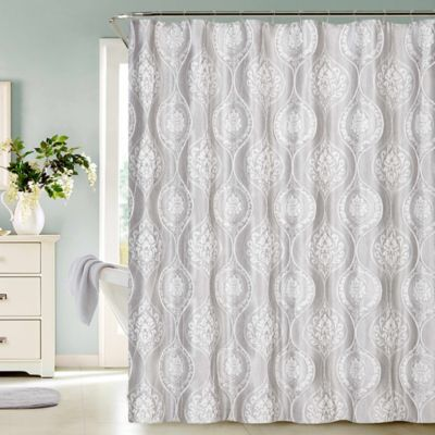 Buy Metallic Silver Shower Curtains from Bed Bath & Beyond