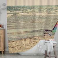 KESS InHouseR Beach Chair Shower Curtain