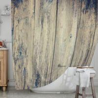 KESS InHouse® Wood Photography II Shower Curtain