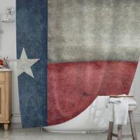 KESS InHouse® Texas State Flag Shower Curtain