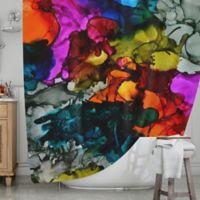 KESS InHouse® Hippie Love Child Shower Curtain