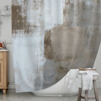 KESS InHouse® Calm and Neutral Shower Curtain