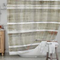 KESS InHouse® Loving Life Shower Curtain