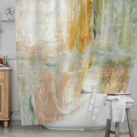 KESS InHouse® Coffee Shower Curtain