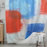 KESS InHouse® The Colors Shower Curtain