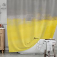 KESS InHouse® A Simple Abstract Shower Curtain