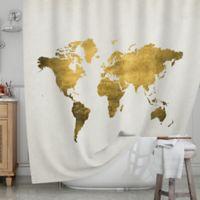 KESS InHouse® Let Love Light the Way Shower Curtain